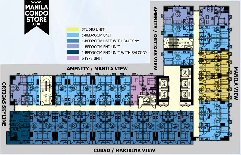 SMDC Mezza 2 Residences Quezon City Condo Floor Plan