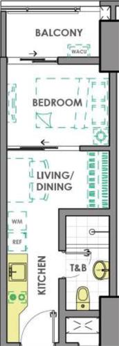 DMCI Homes Prisma Residences Pasig Condo 1-bedroom