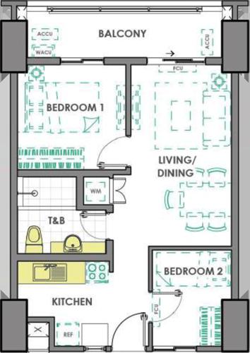 DMCI Homes Prisma Residences Pasig Condo 2-bedroom