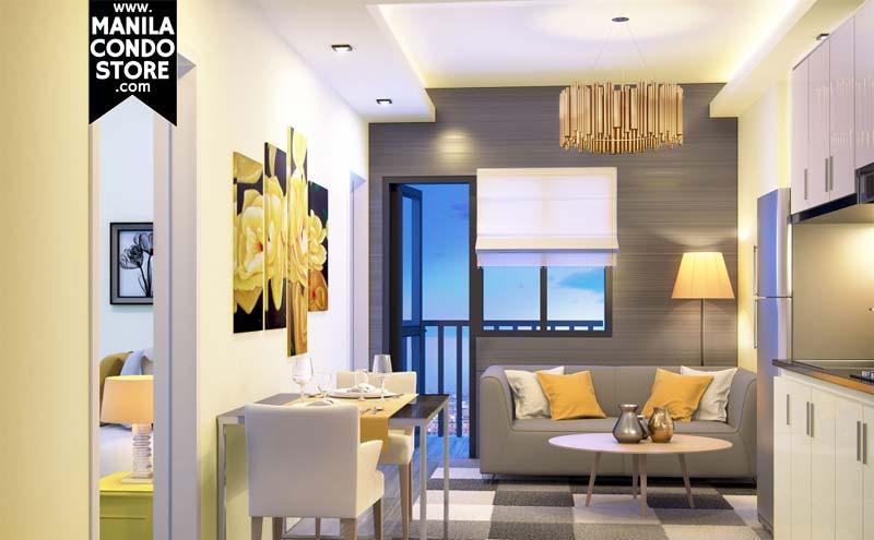 SMDC Sea Residences Mall of Asia Condo Model Unit