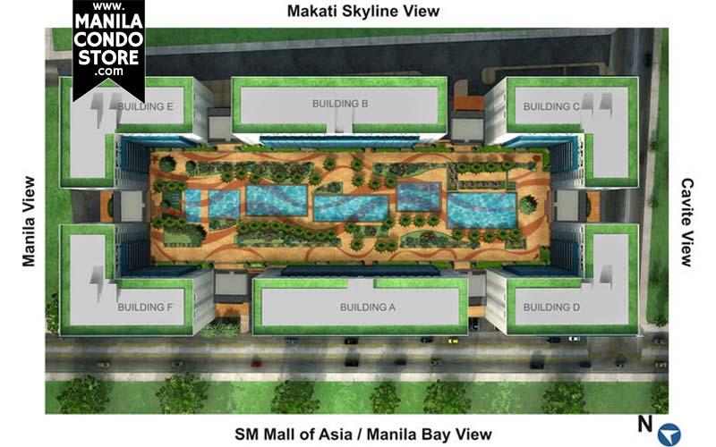 SMDC Sea Residences Mall of Asia Condo Site Development Plan