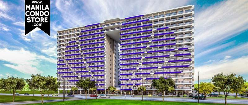 SMDC Shell Residences Mall of Asia Condo Building Facade