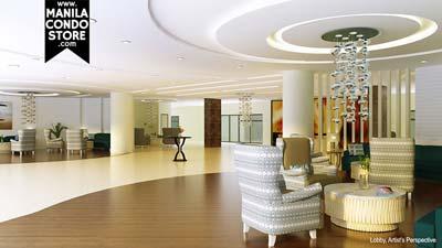 SMDC Shell Residences Mall of Asia Condo Lobby