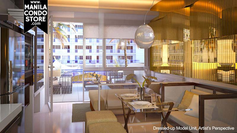 SMDC Shell Residences Mall of Asia Condo Model Unit
