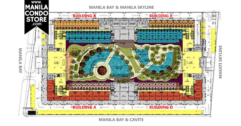 SMDC Shell Residences Mall of Asia Condo Site Development Plan