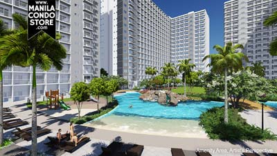 SMDC Shore Residences Mall of Asia Condo Pool