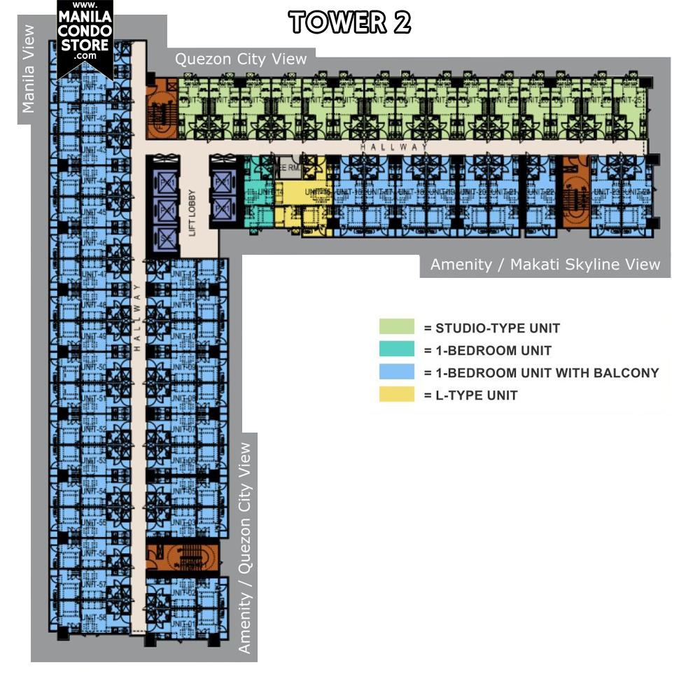 Smdc sun residences smdc sun residences quezon city condo tower 2 floor plan malvernweather Image collections