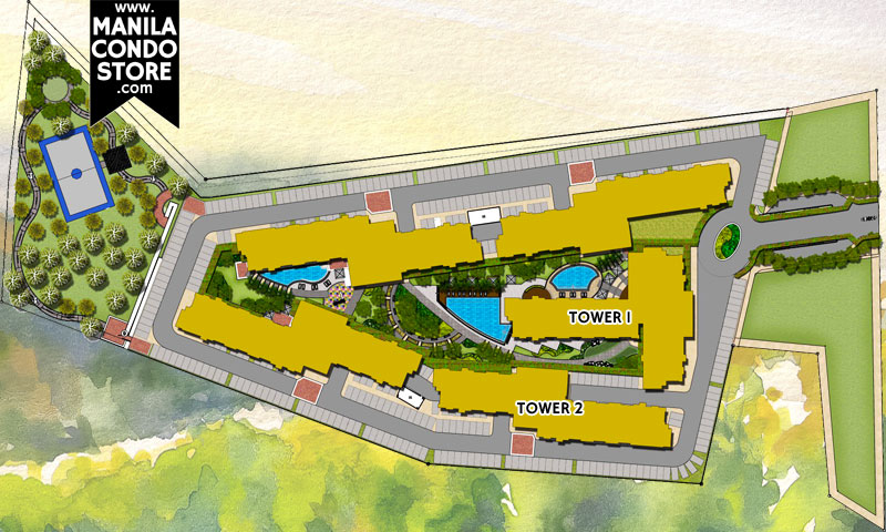 SMDC Vine Residences Quezon City Condo Site Development Plan