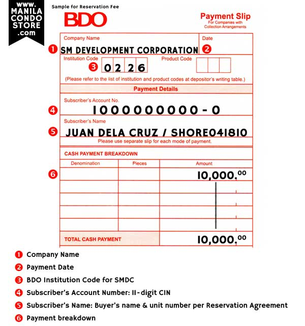 how to pay through bdo