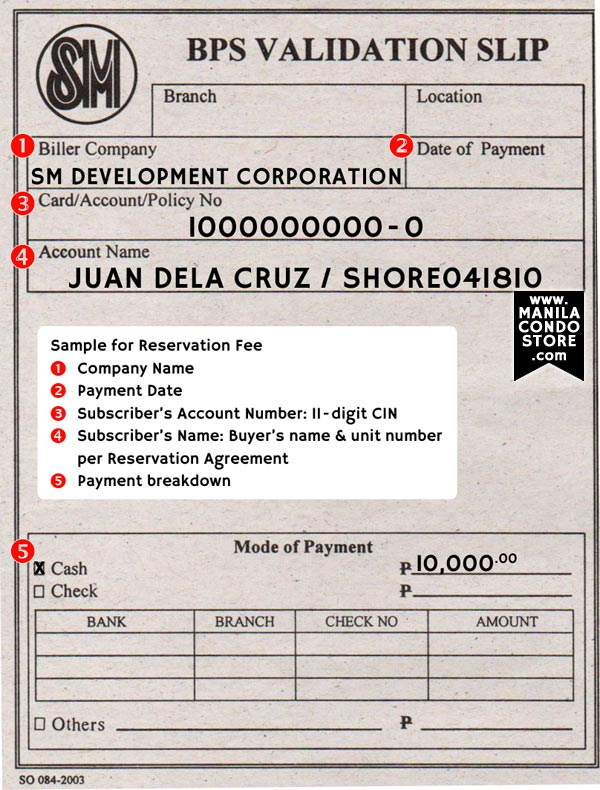 Smdc reservation and buying procedures manila condo store here to see sample yadclub Choice Image