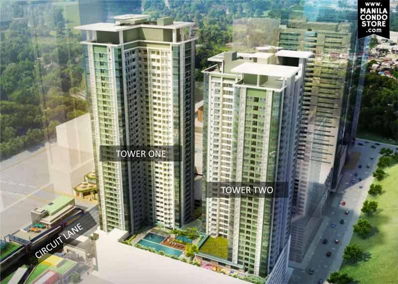 Alveo Solstice at Circuit Makati Condo Building Facade