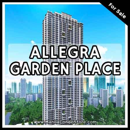 DMCI Homes Allegra Garden Place Pasig Boulevard Condo