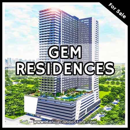SMDC Gem Residences C5 Road Pasig Condo