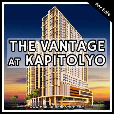 Rockwell Primaries The Vantage at Kapitolyo Pasig Condo