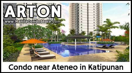 Arton by Rockwell in Katipunan Quezon City Condo