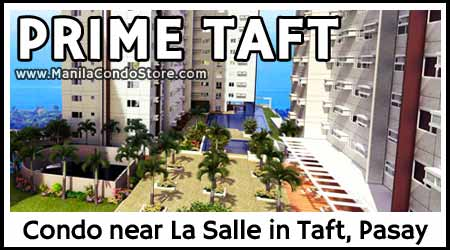Avida Towers Prime Taft De La Salle Condo