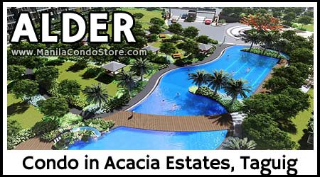 DMCI Homes Alder Residences Acacia Estates Taguig Condo