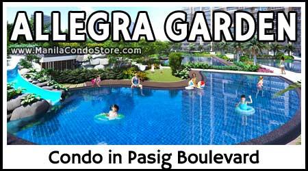 DMCI Homes Allegra Garden Place Pasig Condo