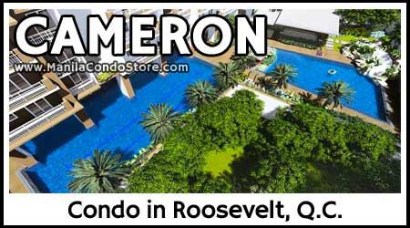 DMCI Homes Cameron Residences Roosevelt Avenue Quezon City Condo