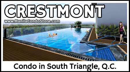 DMCI Homes Crestmont Panay Avenue South Triangle Quezon City Condo