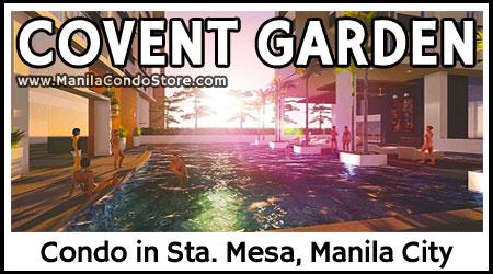 Empire East Covent Garden Sta Mesa Manila City Condo