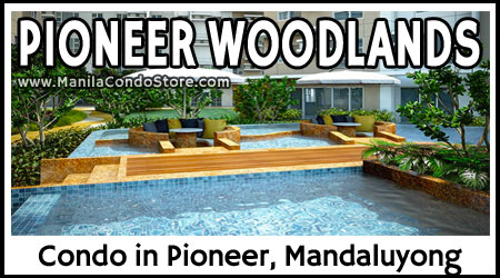 Empire East Pioneer Woodlands Boni Mandaluyong Condo