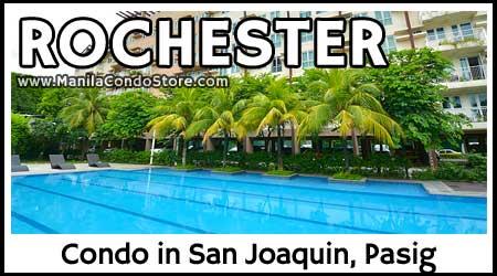 Empire East The Rochester San Joaquin Pasig City Condo