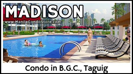 Federal Land Madison Park West BGC Taguig Condo