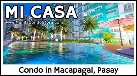 Federal Land Mi Casa Macapagal Pasay Condo