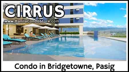Robinsons Cirrus Bridgetowne Rosario Pasig City Condo
