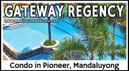 Robinsons Gateway Regency Studios Pioneer Mandaluyong City Condo