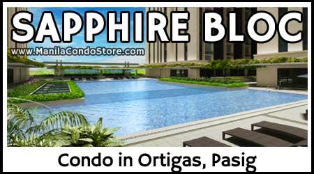 Robinsons Sapphire Bloc Ortigas Pasig Condo