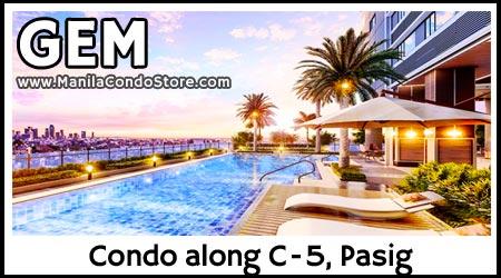 SMDC Gem Residences C-5 Road Pasig Condo