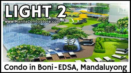 SMDC Light 2 Residences Boni EDSA Mandaluyong Condo