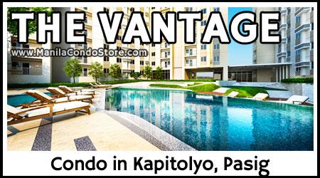 Rockwell Primaries The Vantage at Kapitolyo Pasig Condo