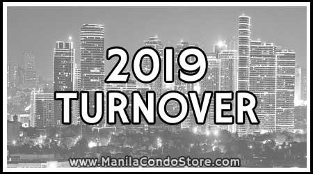 2019 Turnover Manila Condo Store