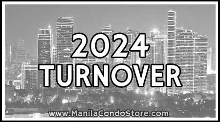 2024 Turnover Manila Condo Store