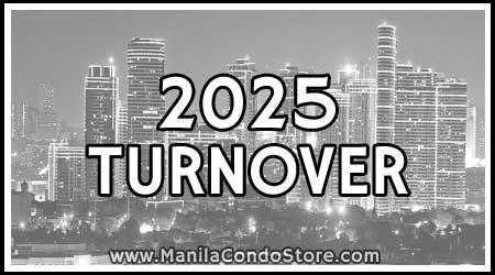 2025 Turnover Manila Condo Store
