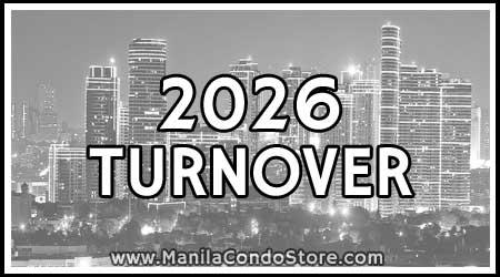 2026 Turnover Manila Condo Store