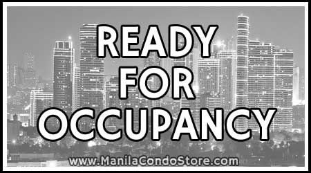 Ready for Occupancy Manila Condo Store